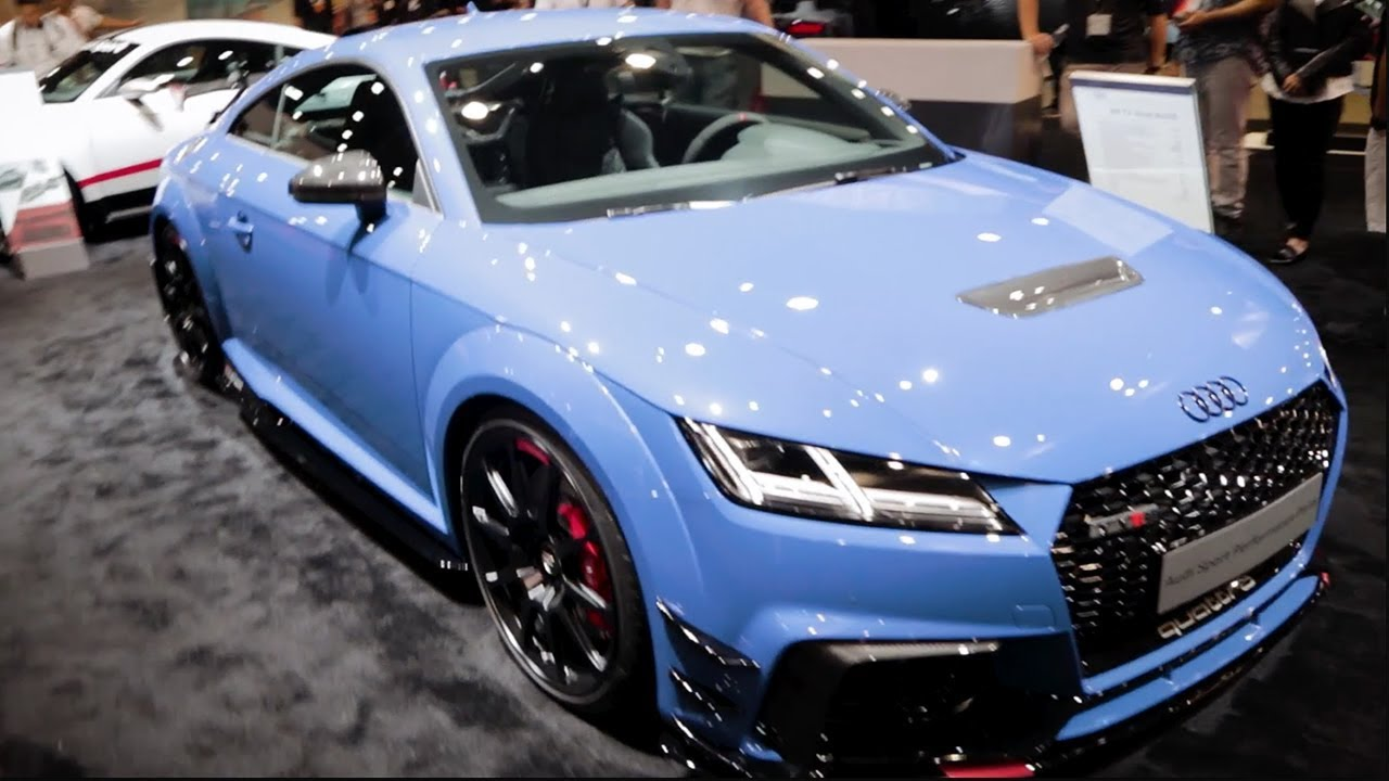 2018 Audi TT RS Performance Parts Upgrades SEMA Show 2017