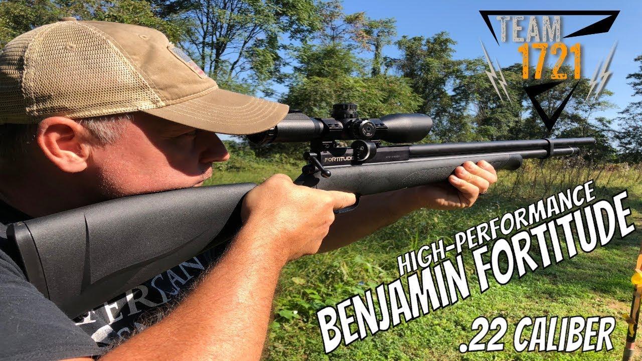 Benjamin Fortitude Air Rifle Test Review .22 Caliber