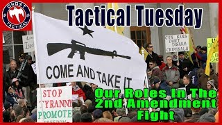 Our Roles in the 2nd Amendment Fight