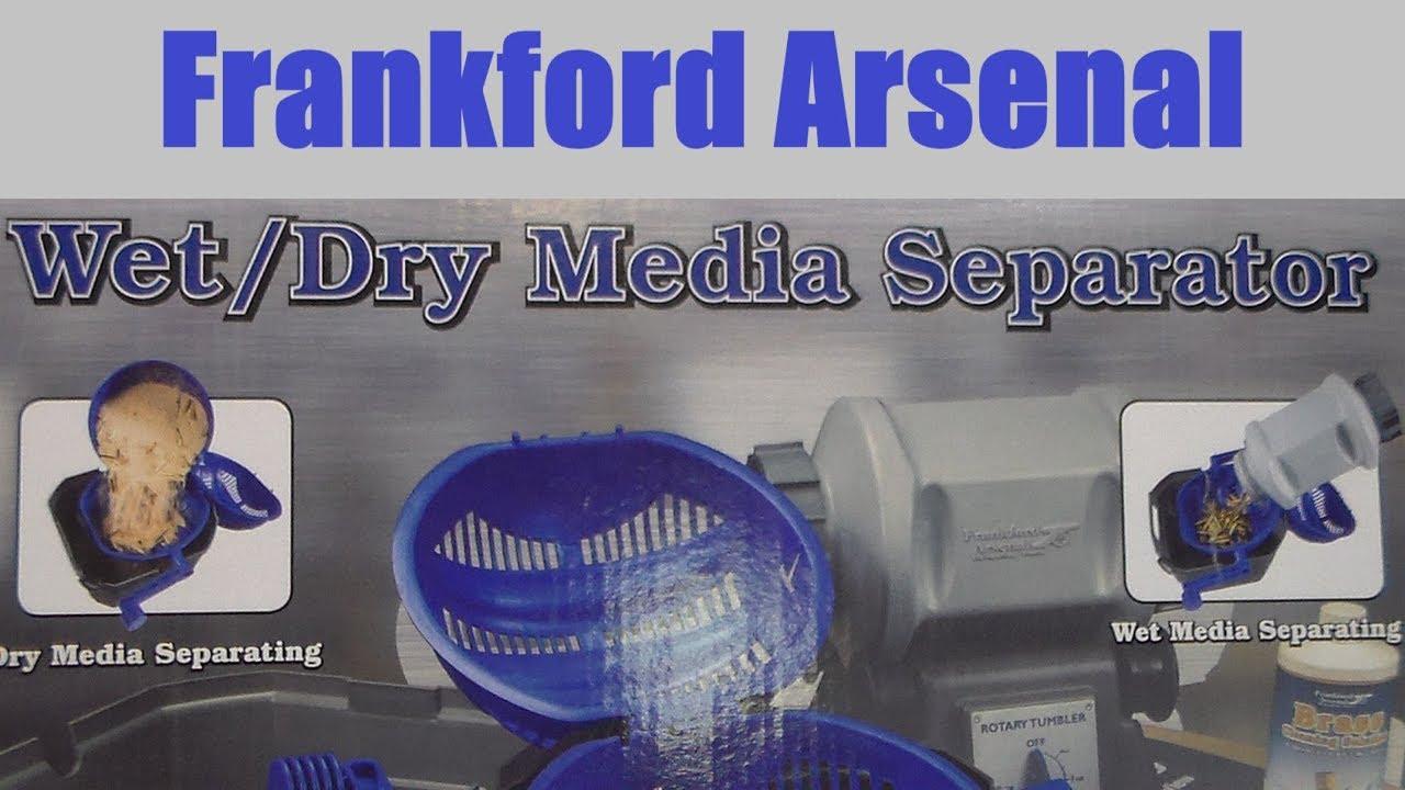 Frankford Arsenal Wet Dry Media Separator