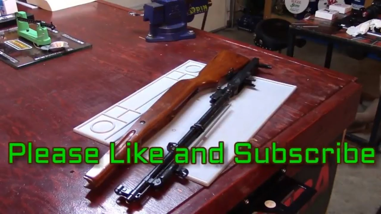 Sierra, SKS, 7.62X39, Redding Load Series, Video 3, Stock to Receiver and Barrel Assembly