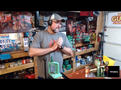Live Stream: Meet Jake, He has a S&W Model 28, an RCBS Rock Chucker and Components. Let's Reload!!!