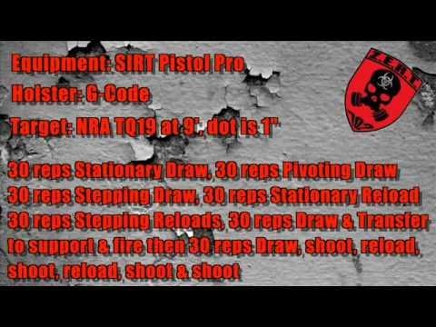 Day 4 SIRT Pistol Training Ops - Reloads