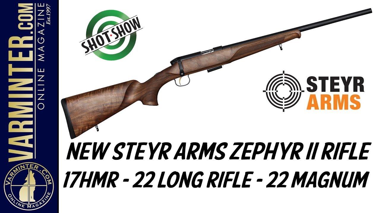 New Steyr Arms Zephyr II Rimfire Rifle
