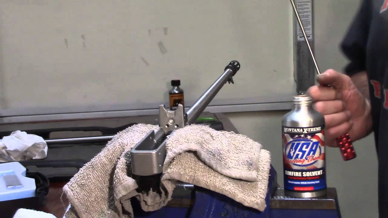 Ruger 10-22, 50th Anniversary Rifle, Montana X-Treme, Scrubbing the Bore, Video 23