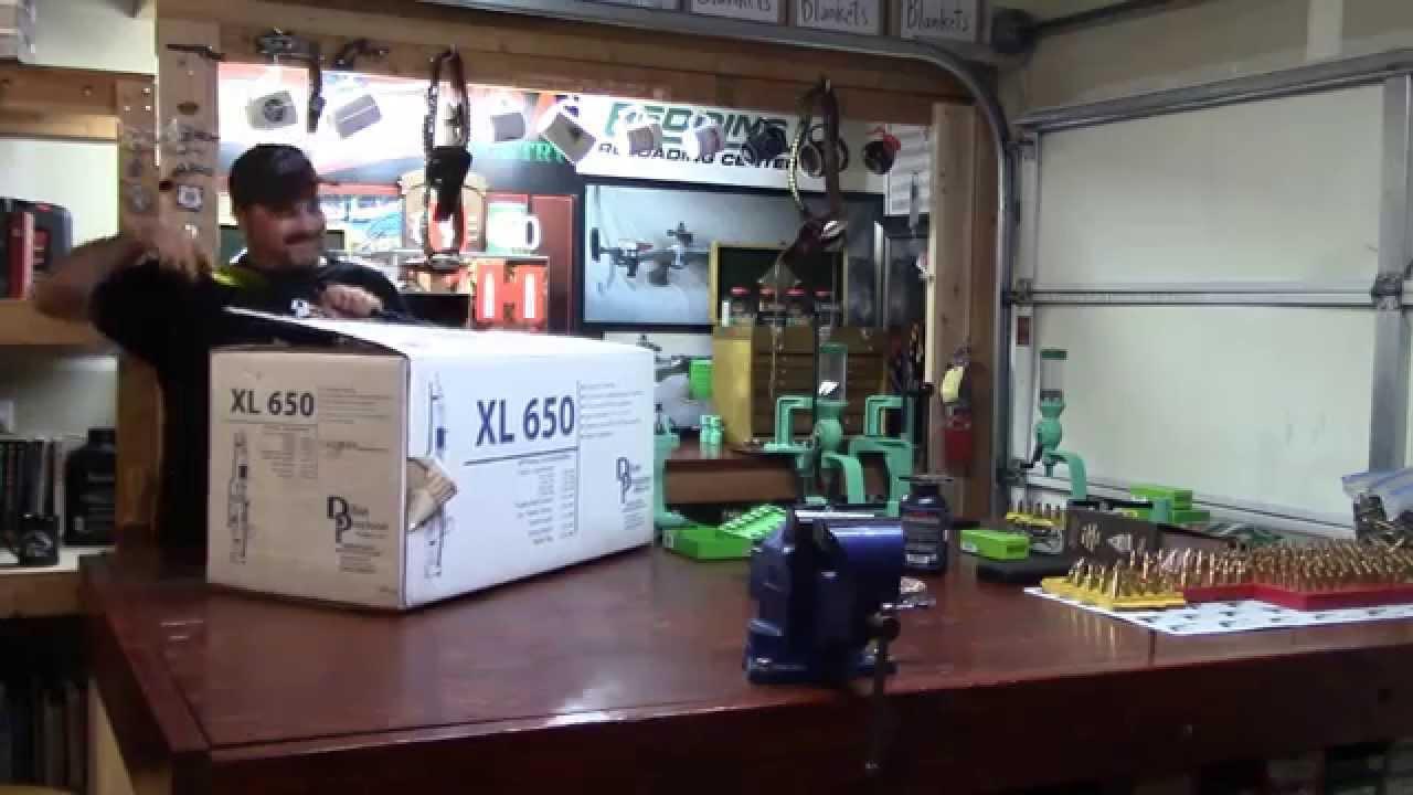 WBR, Video 159, Dillon XL650 Unboxing
