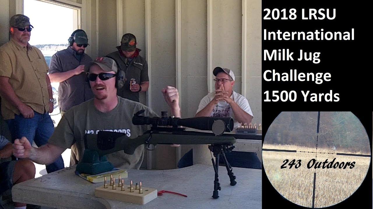 2018 LRSU International Milk Jug Challenge 1500 Yards