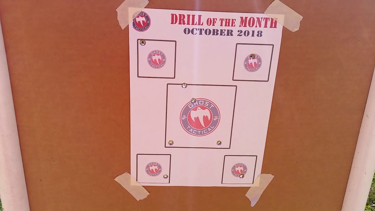 Ghost Tactical drill of the month for October.