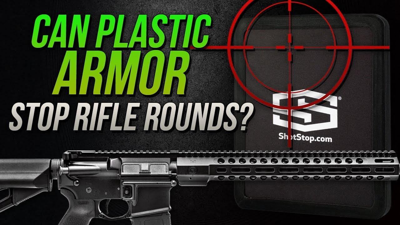 Can Plastic Backpack Armor Stop Rifle Rounds? Shot Stop lvl III+ UHMWPE Backpack Armor Test