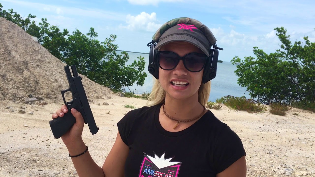 Full Auto Glocks are SKETCHY!!!      Glock18 or Glock19?     at Southern Most Guns in Key West FL!