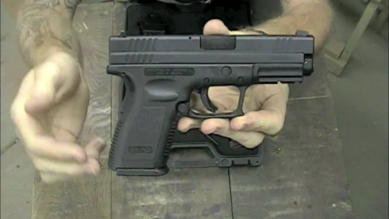 SAR: Reviewing the Springfield Armory XD-45 Compact - part 1 of 2