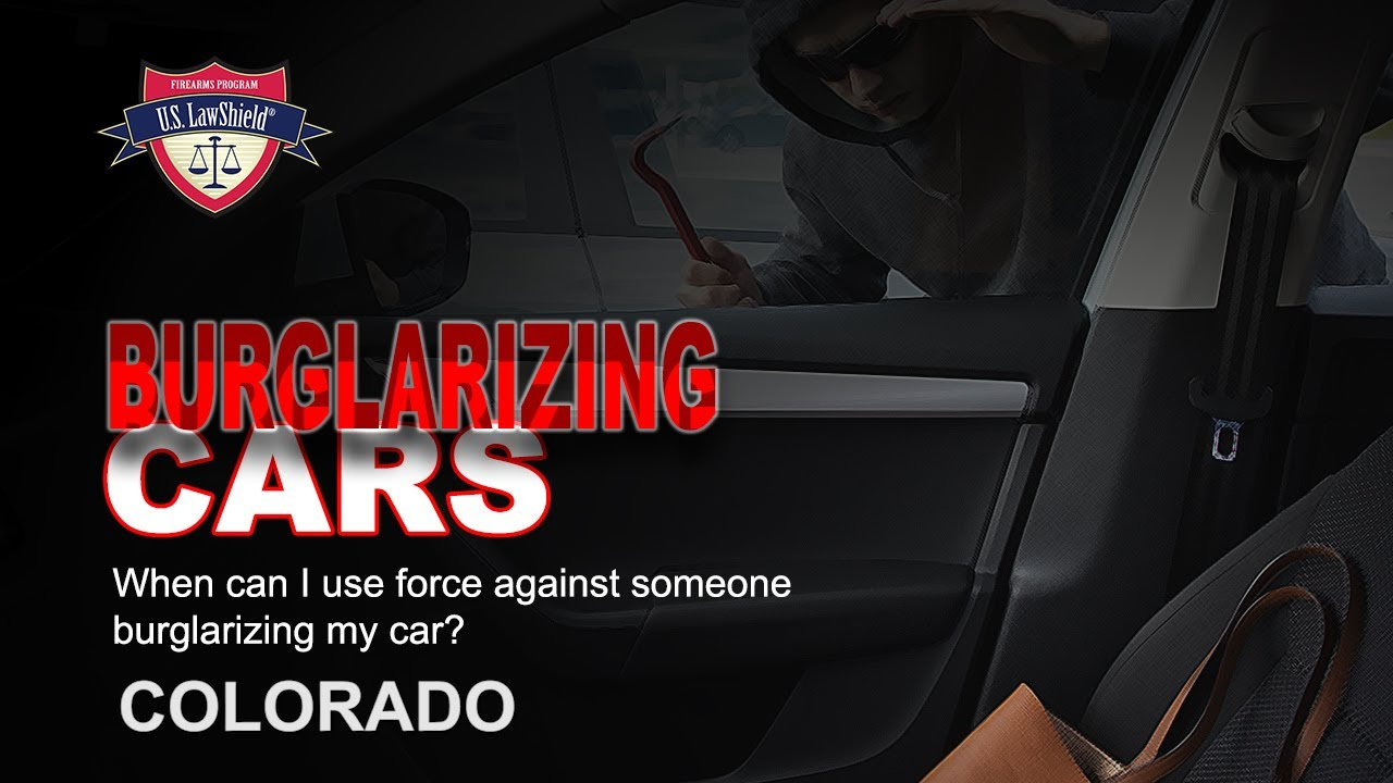 CO Burglarizing Cars