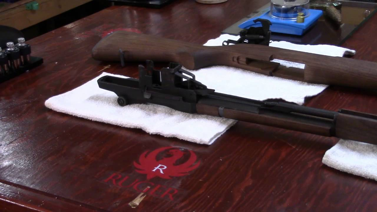 M1 Garand Series, Video 21, Removing the Follower Rod, Arm, and Op-Rod Spring