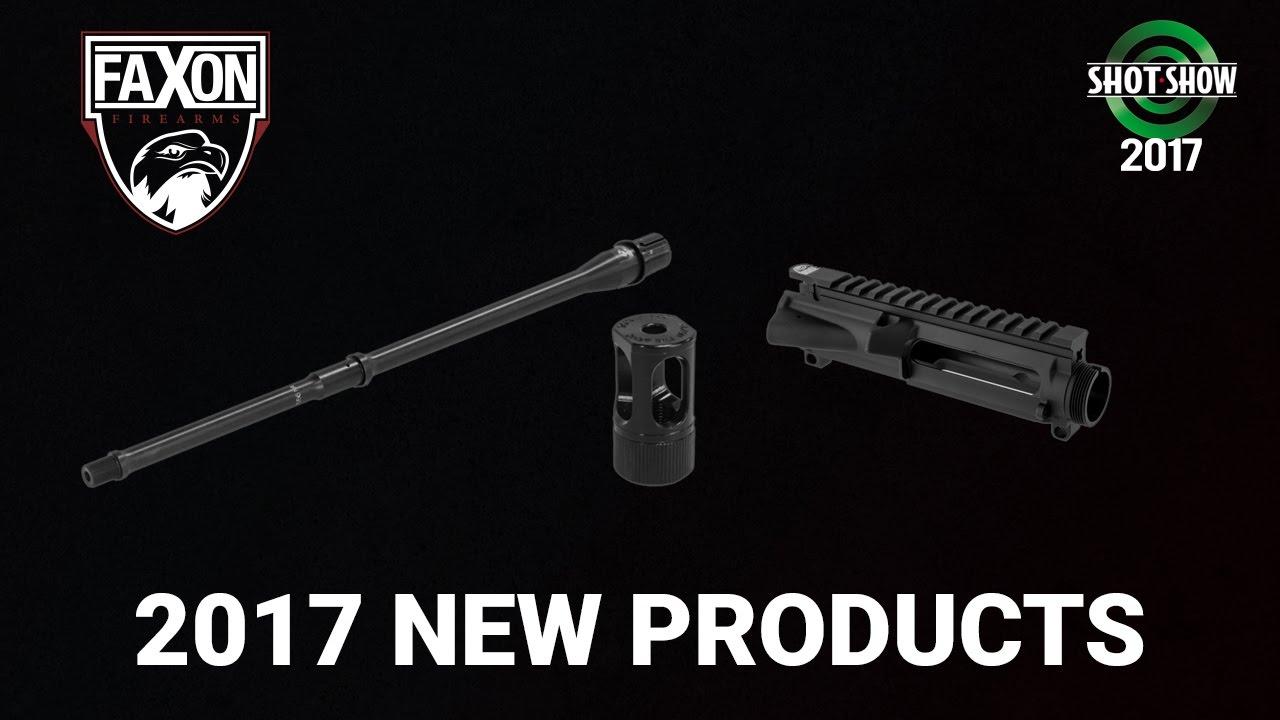 Faxon Firearms Barrels, LOUD Mouth, Receivers & More - SHOT Show 2017 Day 3