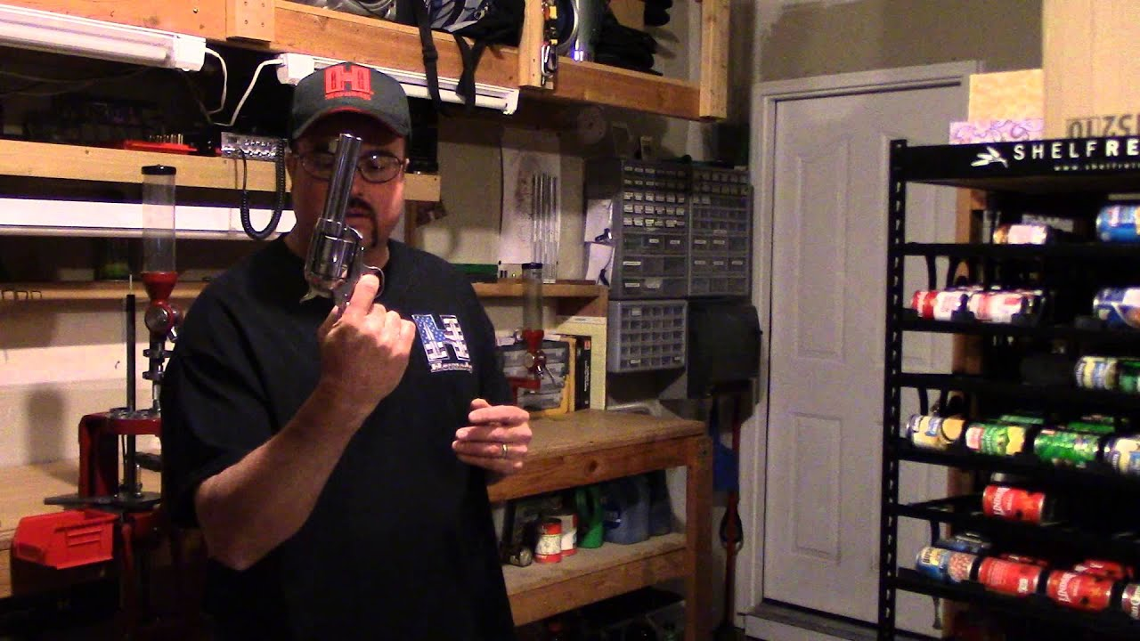 Beginning Reloading, Video 6, Third Rule of Firearm Safety, Keep Your Finger Off the Trigger Until..