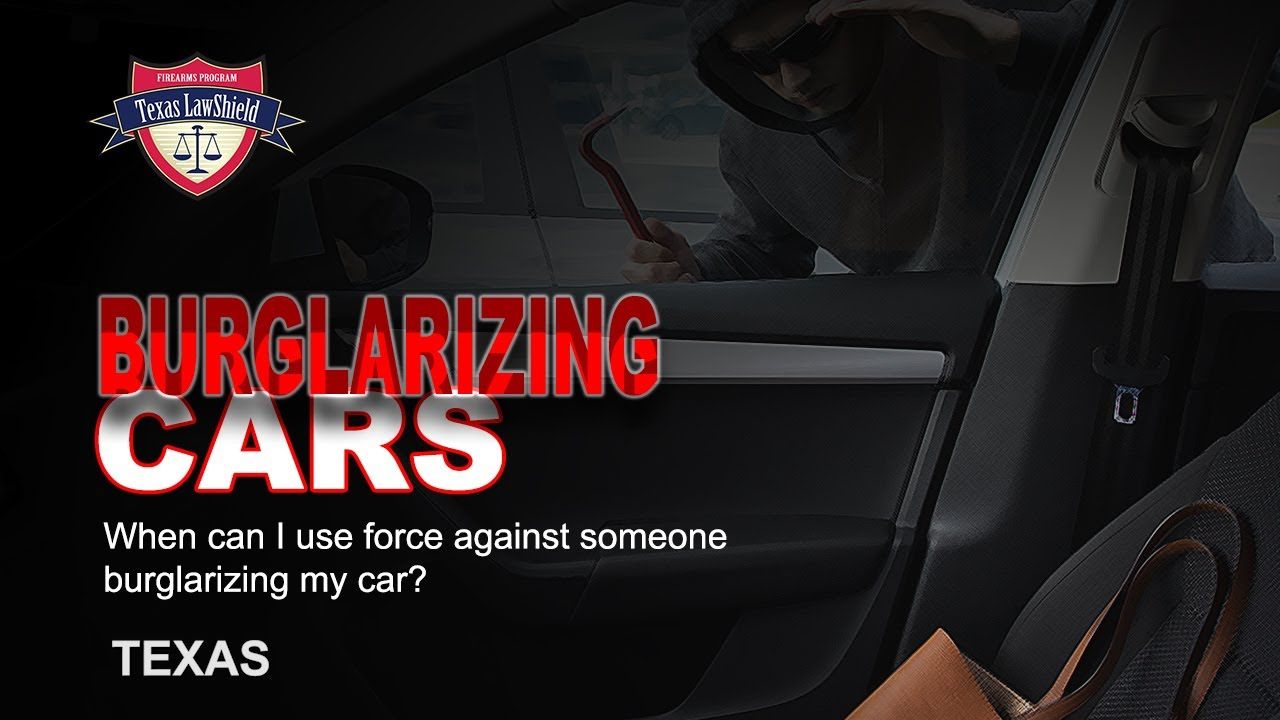 TX Burglarizing Cars