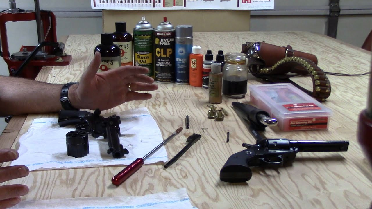 Beginning Reloading, Video 60, Cleaning the Ruger Blackhawk 357 Magnum