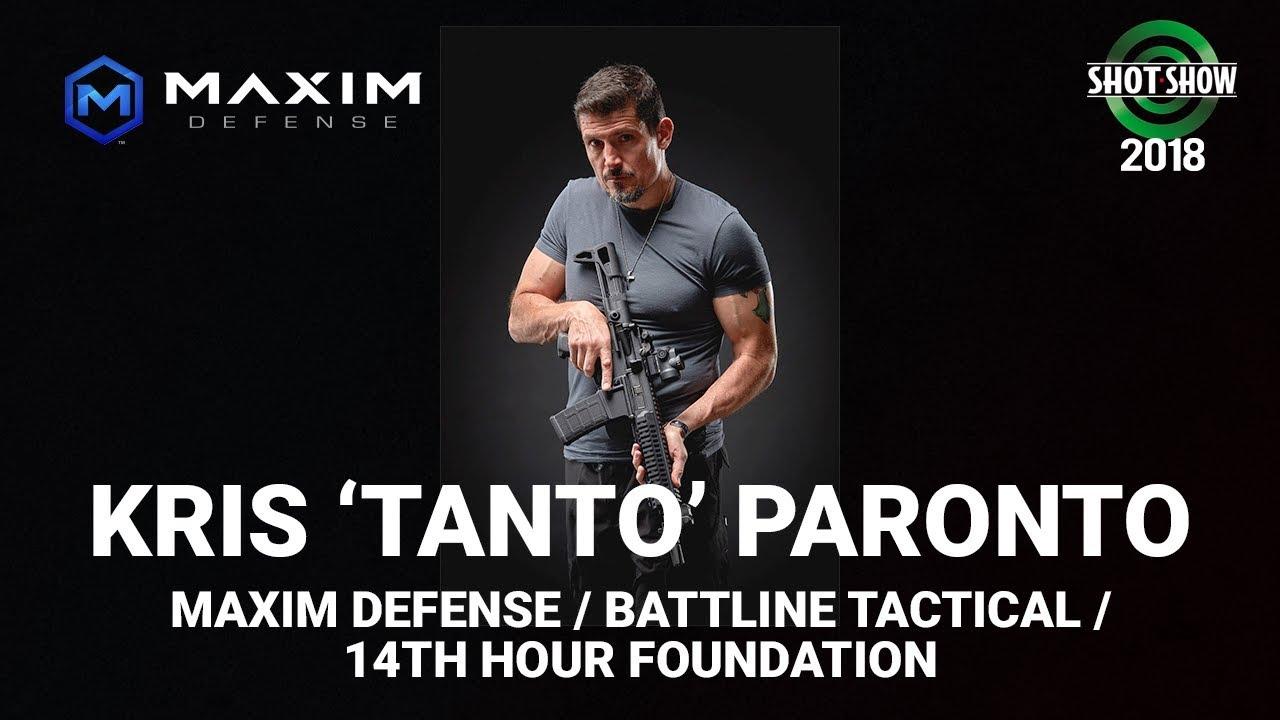 Maxim Defense, Battleline Tactical with Kris 'Tanto' Paronto - SHOT Show 2018 Day 2