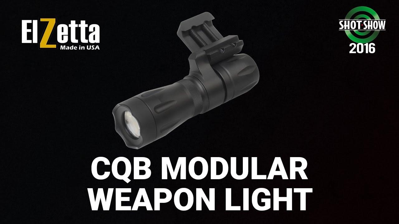 Elzetta CQB Modular Weapon Light  - SHOT Show 2016