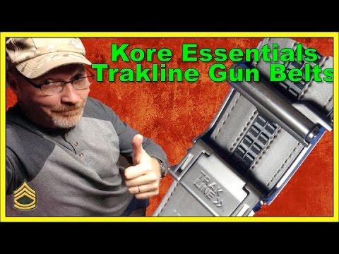 TrakLine Gun belts by Kore Essentials Review