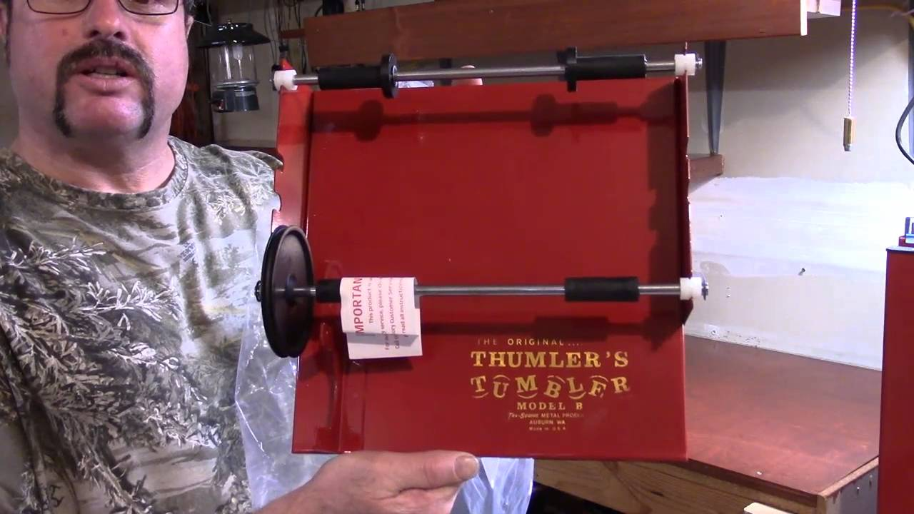 Upgrade This Old Bench, Video 20, Unboxing the Thumbler's Tumbler