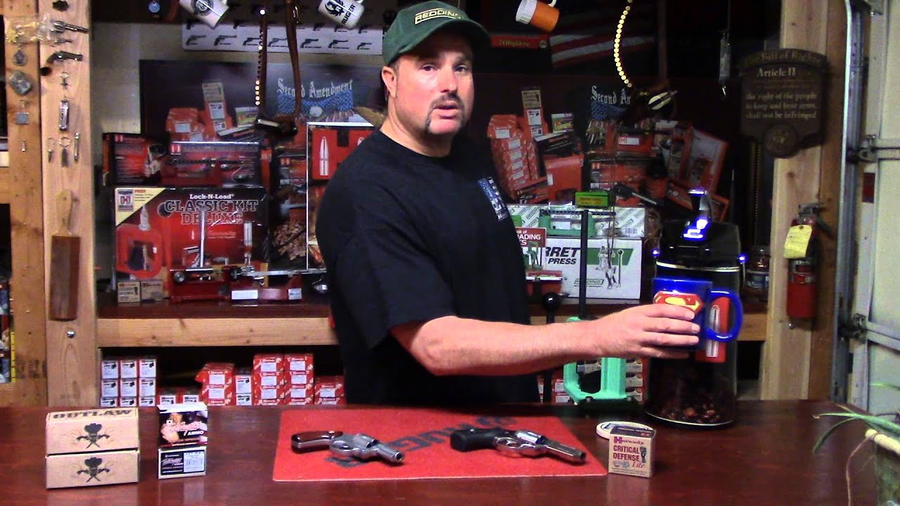 Women's Beginning Reloading, Video 7, Defining Double Action