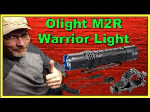 Light M2R Warrior Review - 1500 Lumen Tactical Light, Mount & Tape Switch
