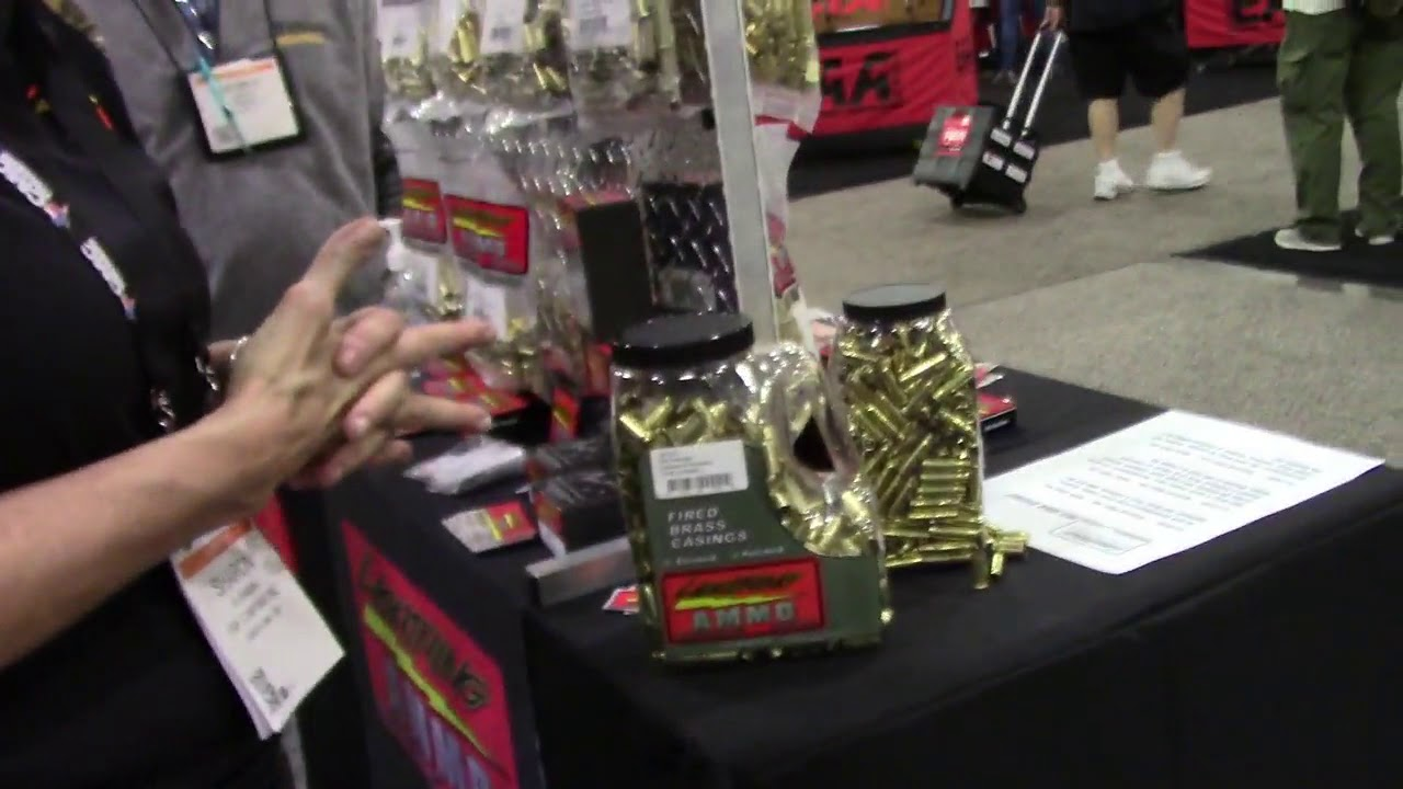 Shot Show 2018, Mike from Ransom Rest Meets Lightning Ammo
