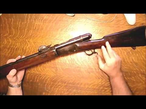 Swiss Vetterli Model 1878 81 Disassembly and Cleaning