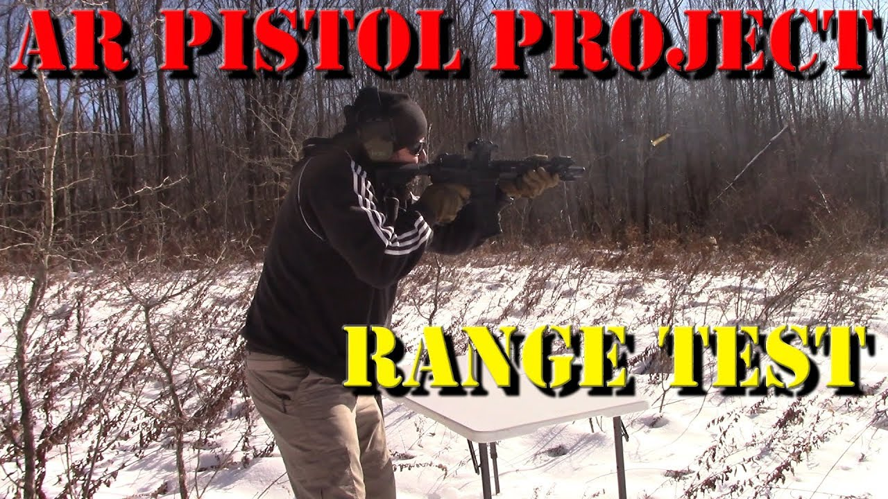 AR Pistol Project: Range Test