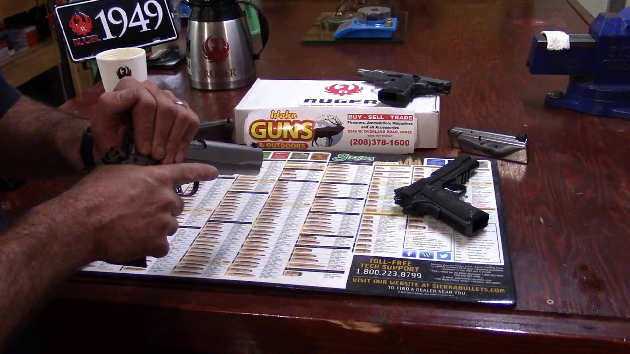 Ruger SR1911, 45 AUTO, TALO, Video 3, Operating the Slide and Avoid Fried Chicken While Doing So