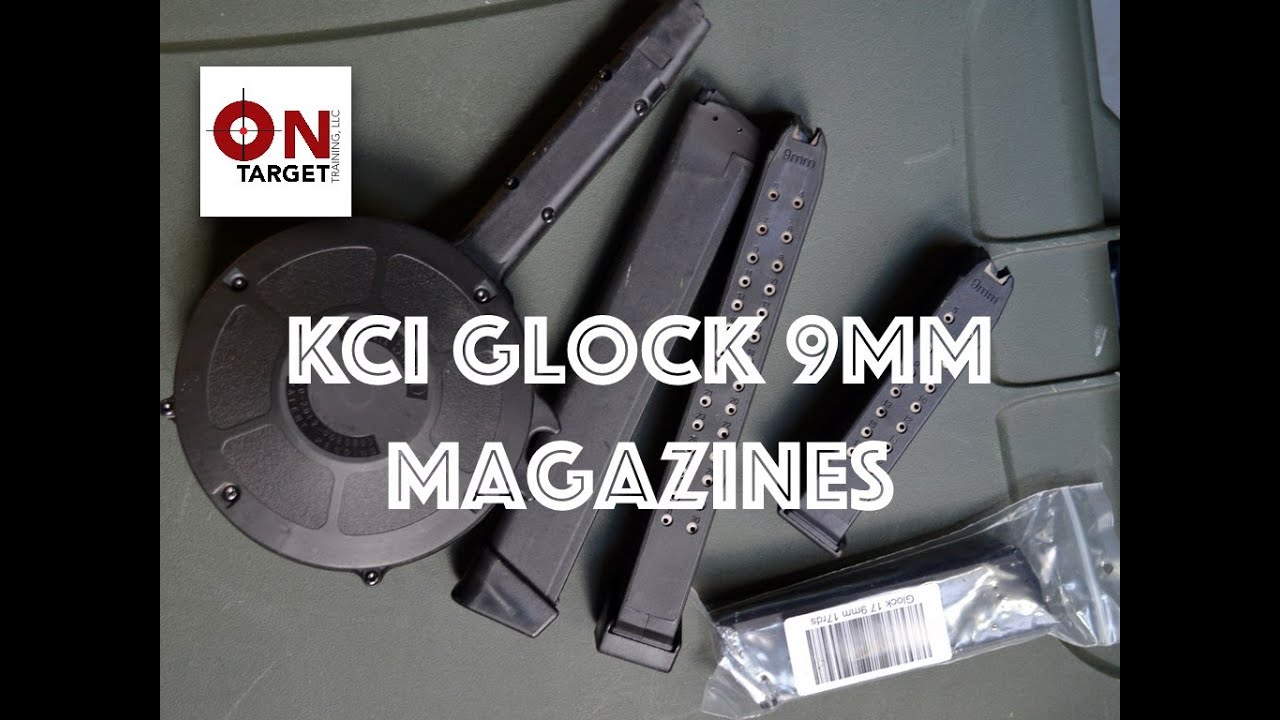 KCI 9mm Glock Mags Range Review.