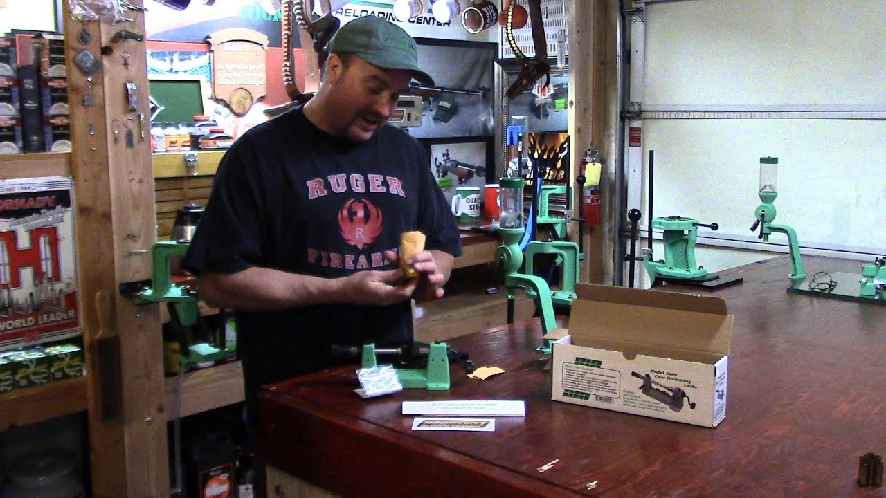 WBR, Video 122, Redding Model 2400 Case Trimming Lathe Unboxing
