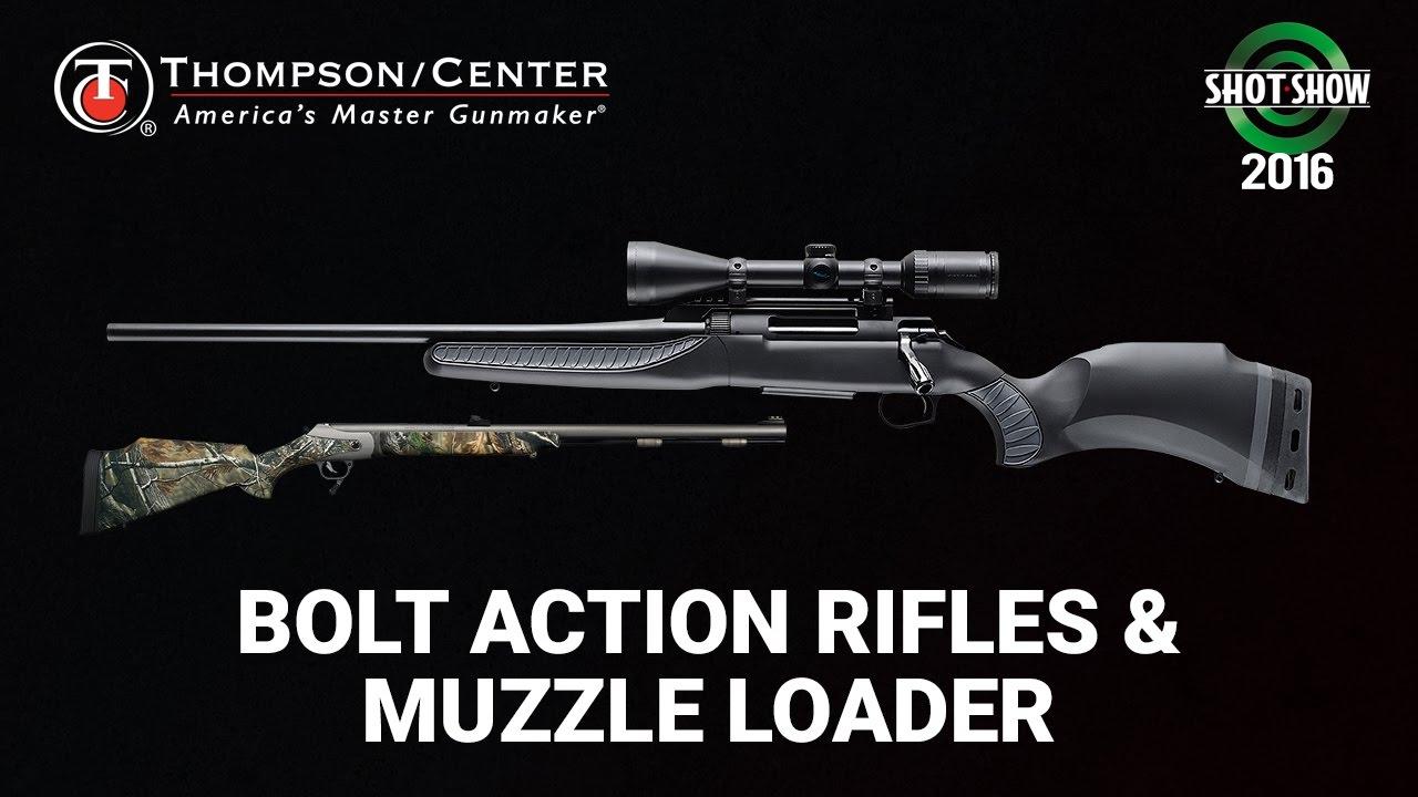 Thompson Center Bolt Action Rifle & Muzzleloader- SHOT Show 2016