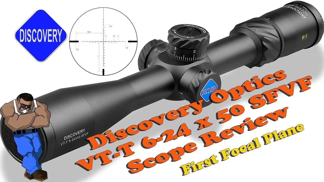 Review: Discovery Optics VT-T 6-24x50 FFP Scope