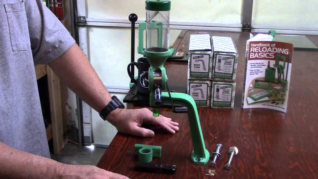 WBR, Video 76, Redding Reloading, Model 3BR Powder Measure and Model RS-6 Bench Stand