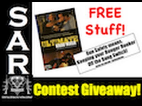 Contest! March 2011 Contest Giveaway! Ultimate Krav Maga DVD & the Booger Hooker Sticker!