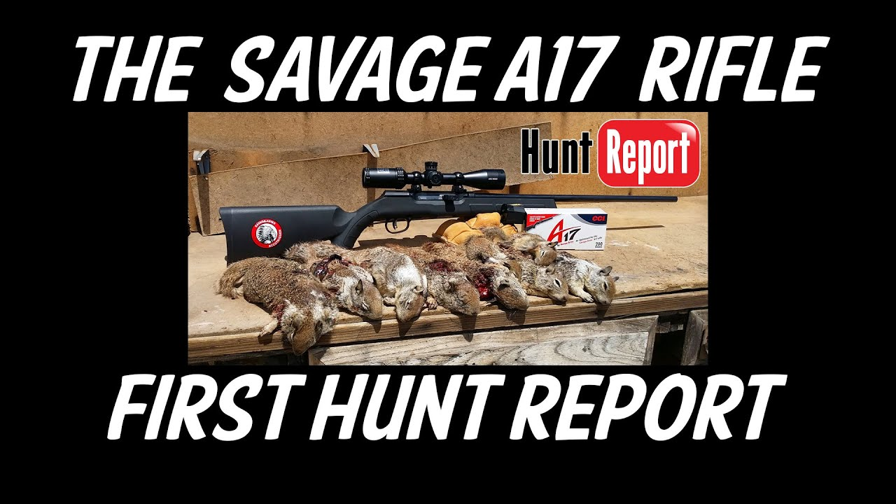 The Savage A17 Rifle - First Hunt Report