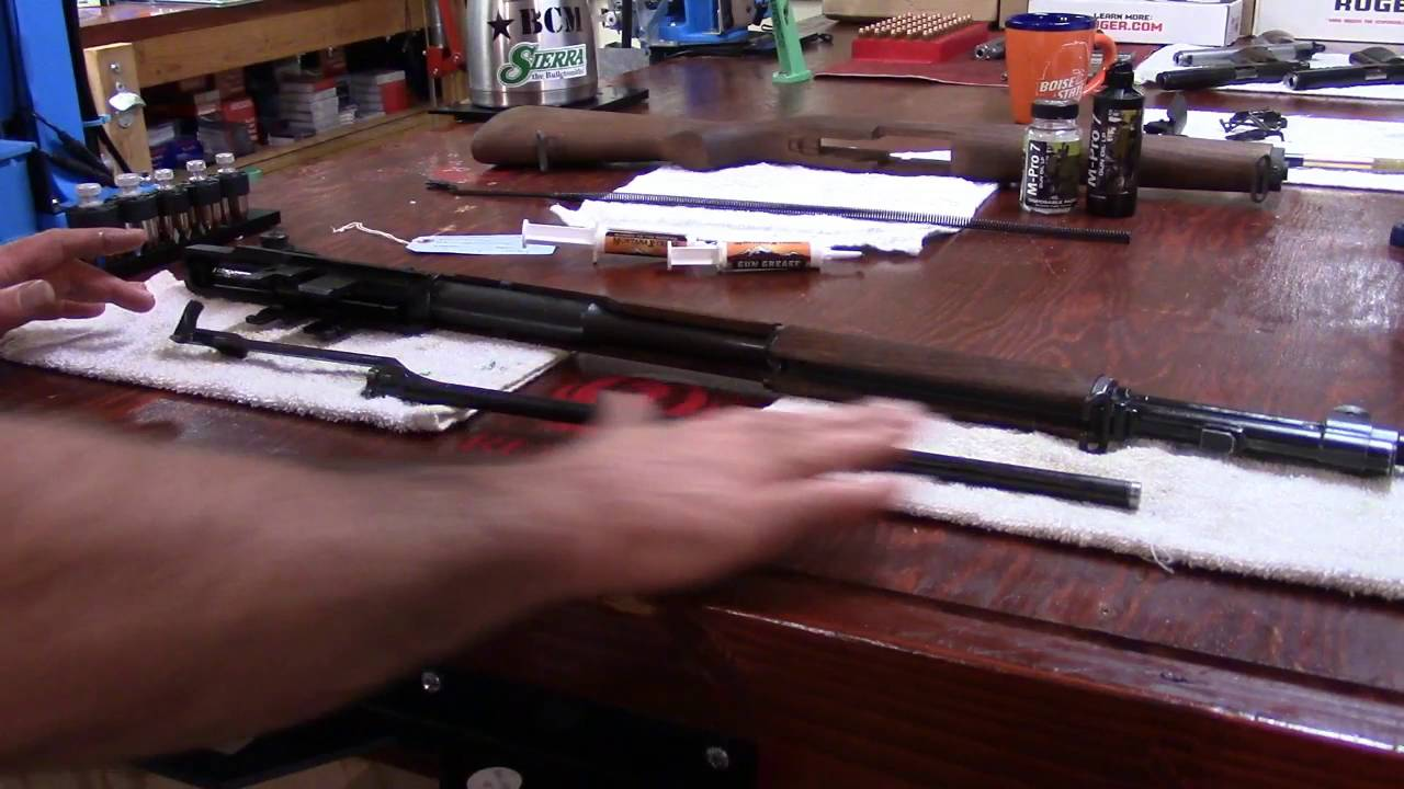 M1 Garand Series, Video 37, Op-Rod Greased and Installed