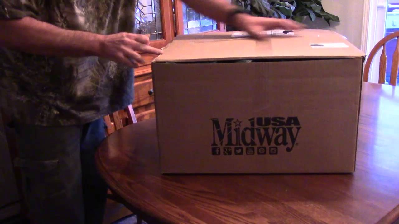 Upgrade This Old Bench, Video 18, Unboxing and This is One Sweet Ka-Bar Knife