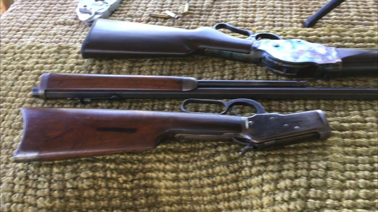 1892 Winchester 32-20 WCF One of the fastest lever action rifle ever