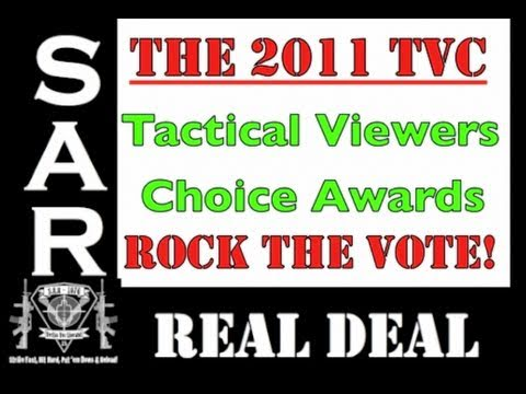 The 2011 TVC - Tactical Viewers Choice Awards = Time to Rock the Vote!