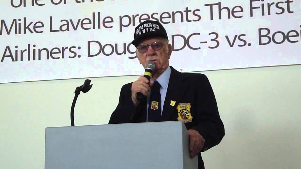 Lt. Col Edward Saylor Discusses the Doolittle Raid on Tokyo