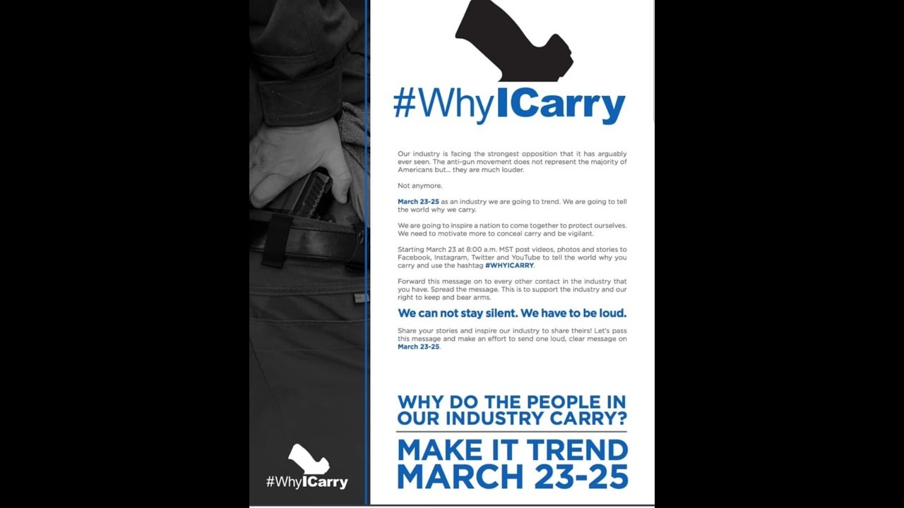 #whyicarry
