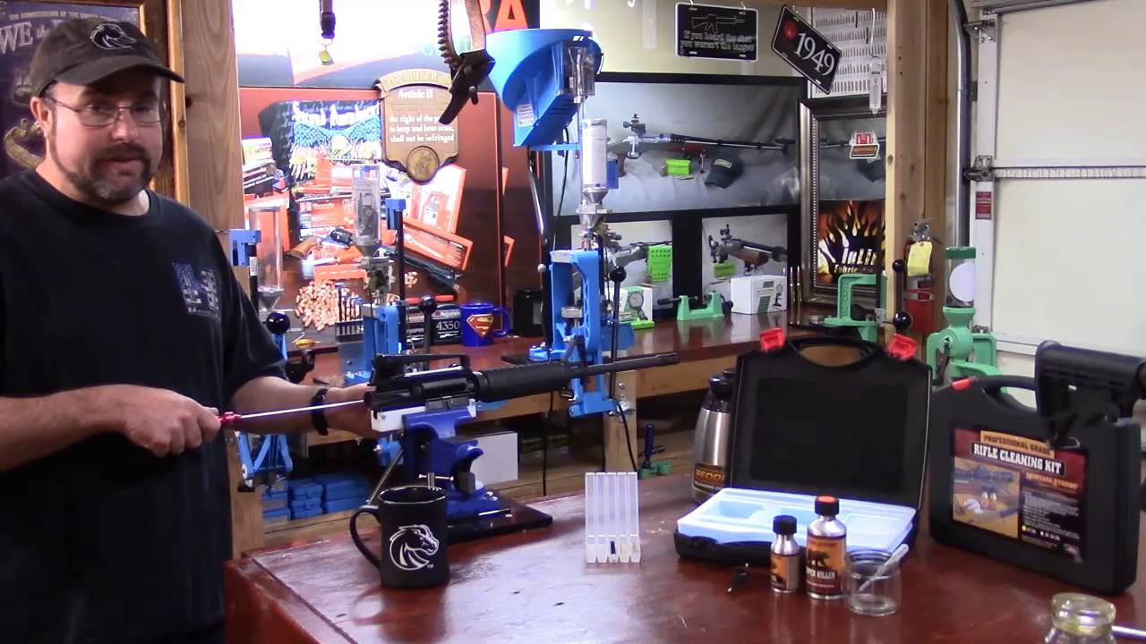 AR-15, 223 Rem. Reloading Series, Video 64, Protecting the Crown and Using Bore Guides