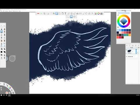 Autodesk Sketchbook - Flying Double Eagle Trucking - Fifty 12 Design - UnkleMike5012