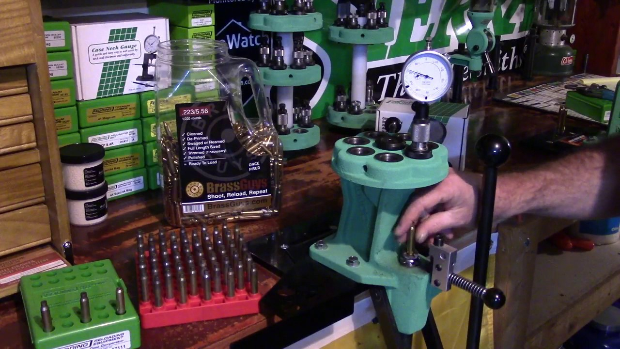 Redding Reloading, BRASS REFIRE, Range Case Prep, Video 7, SAAMI Min Chamber and Mixed Head Stamps