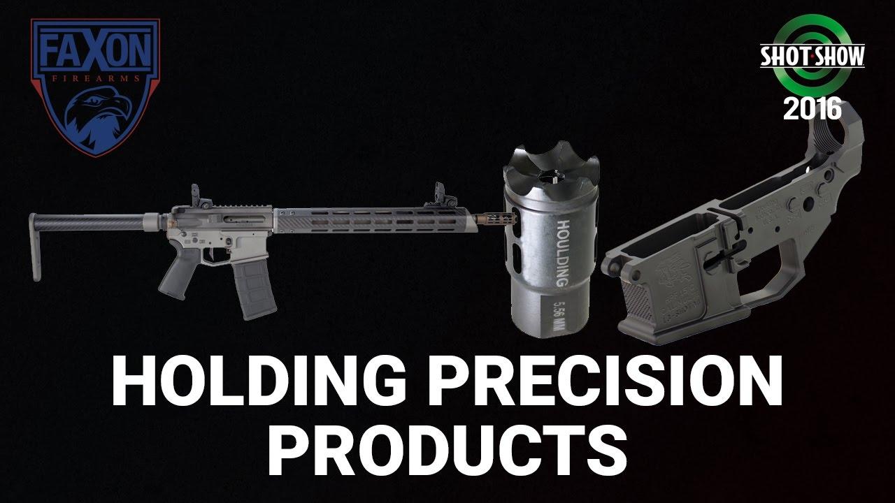 Faxon Firearms Houlding Precision Wraith, Muzzle Brake, Receivers - SHOT Show 2016