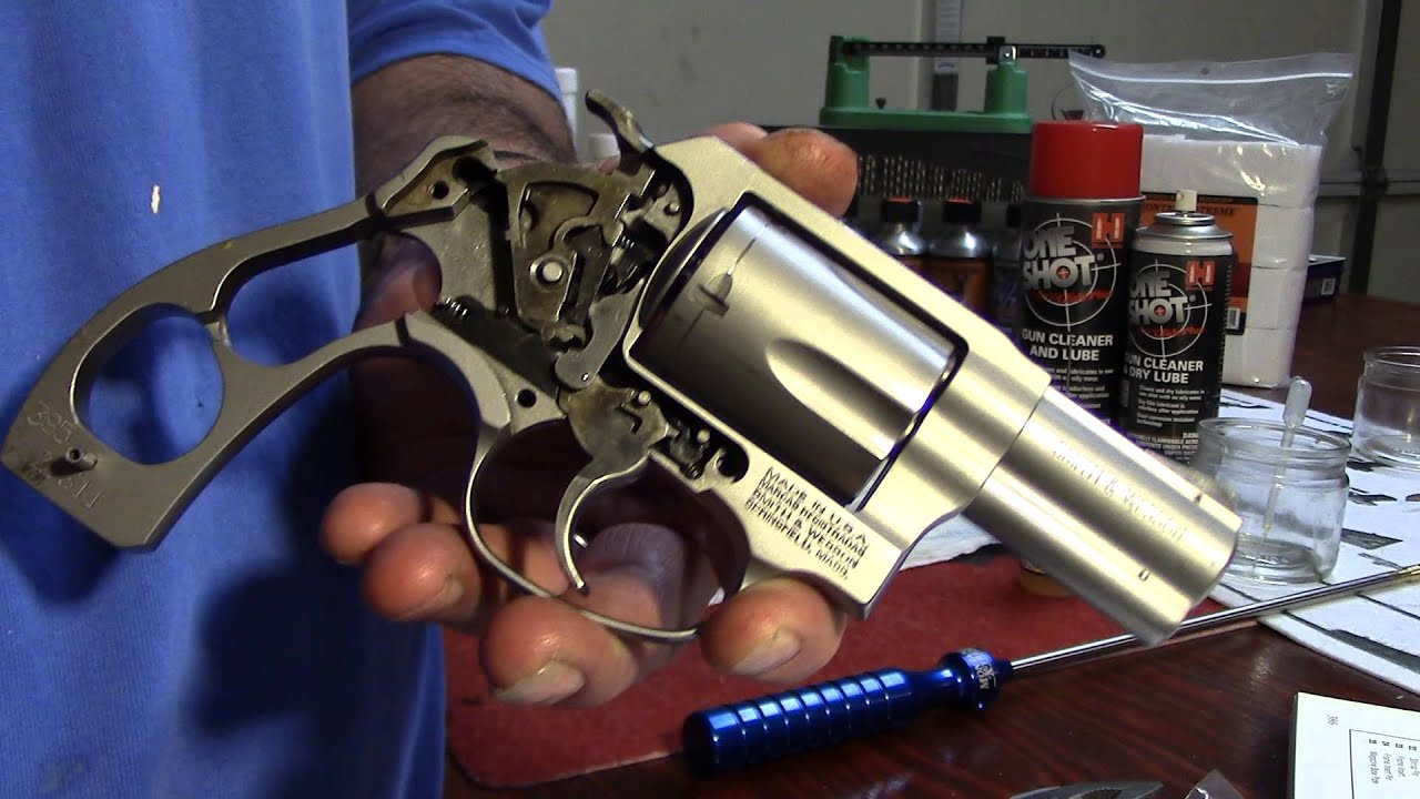 Smith & Wesson Model 60, Hammer Install