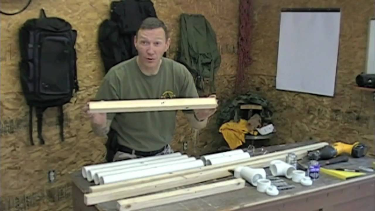 How to make a Target Stand for under $25 by SAR
